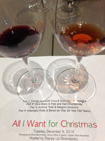 Christmas Wine Tasting at Color de Vino