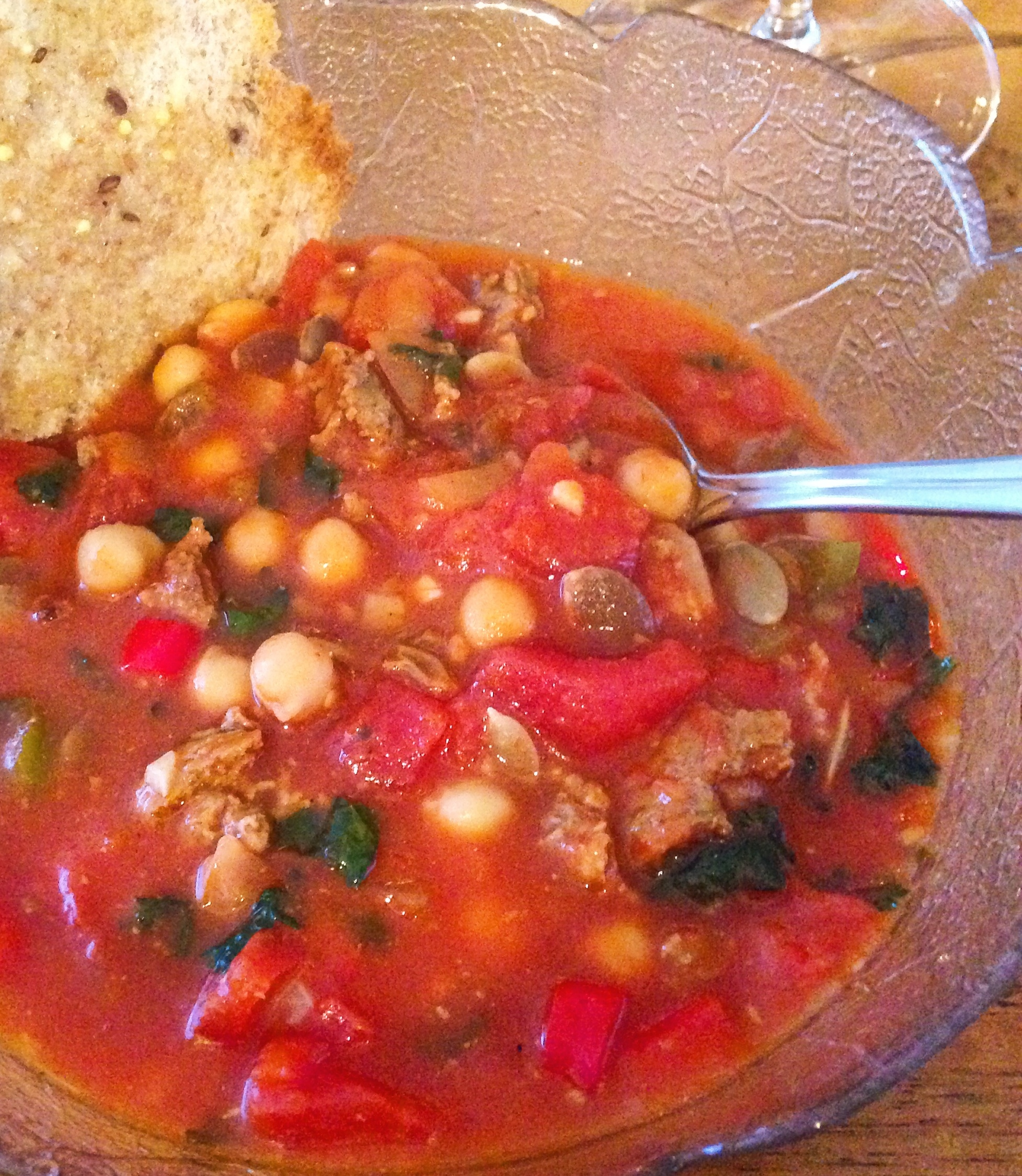 Recipe: Faux-roccan Lamb & Chickpea Stew