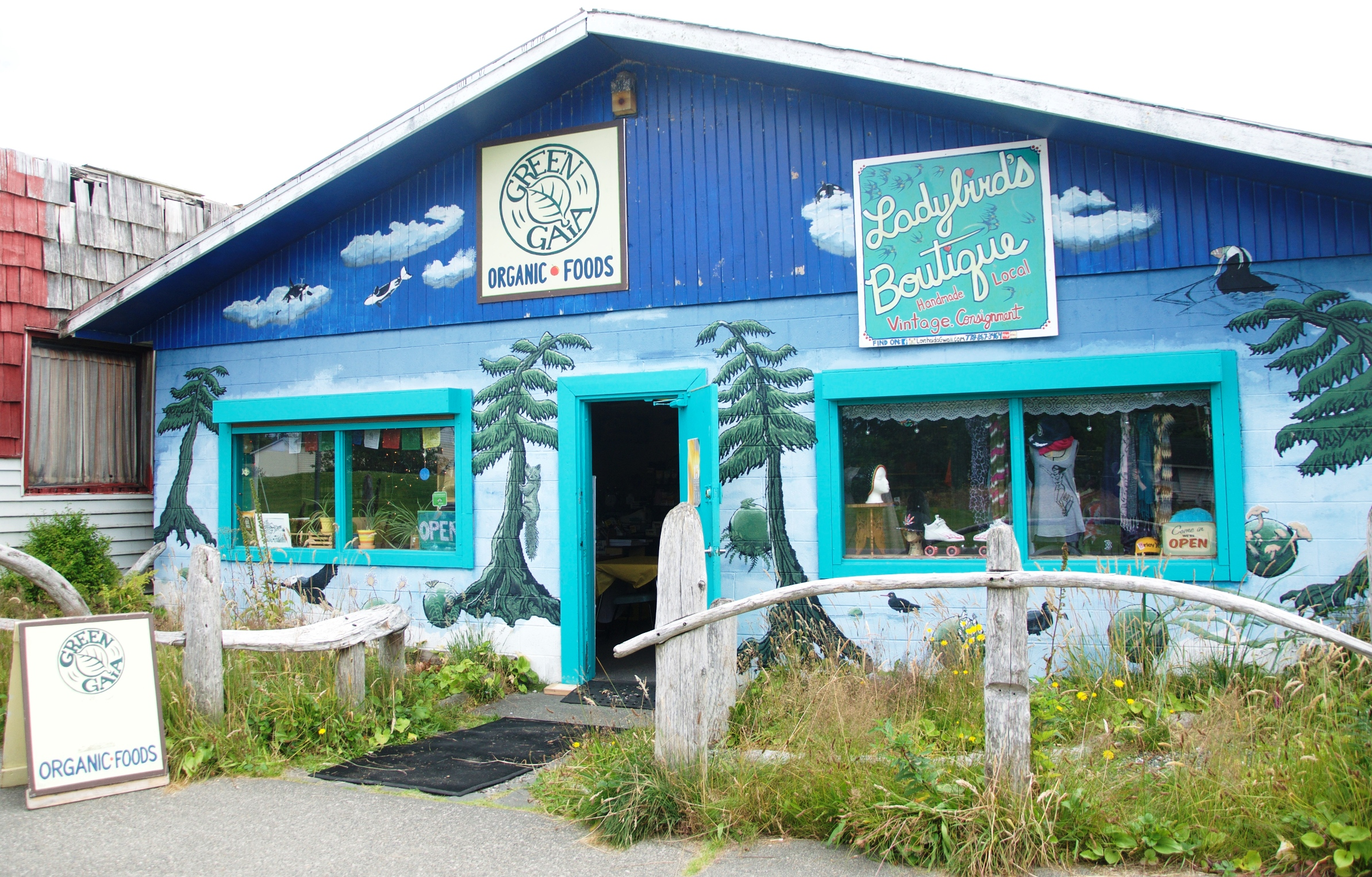 Eating Haida Gwaii: Green Gaia
