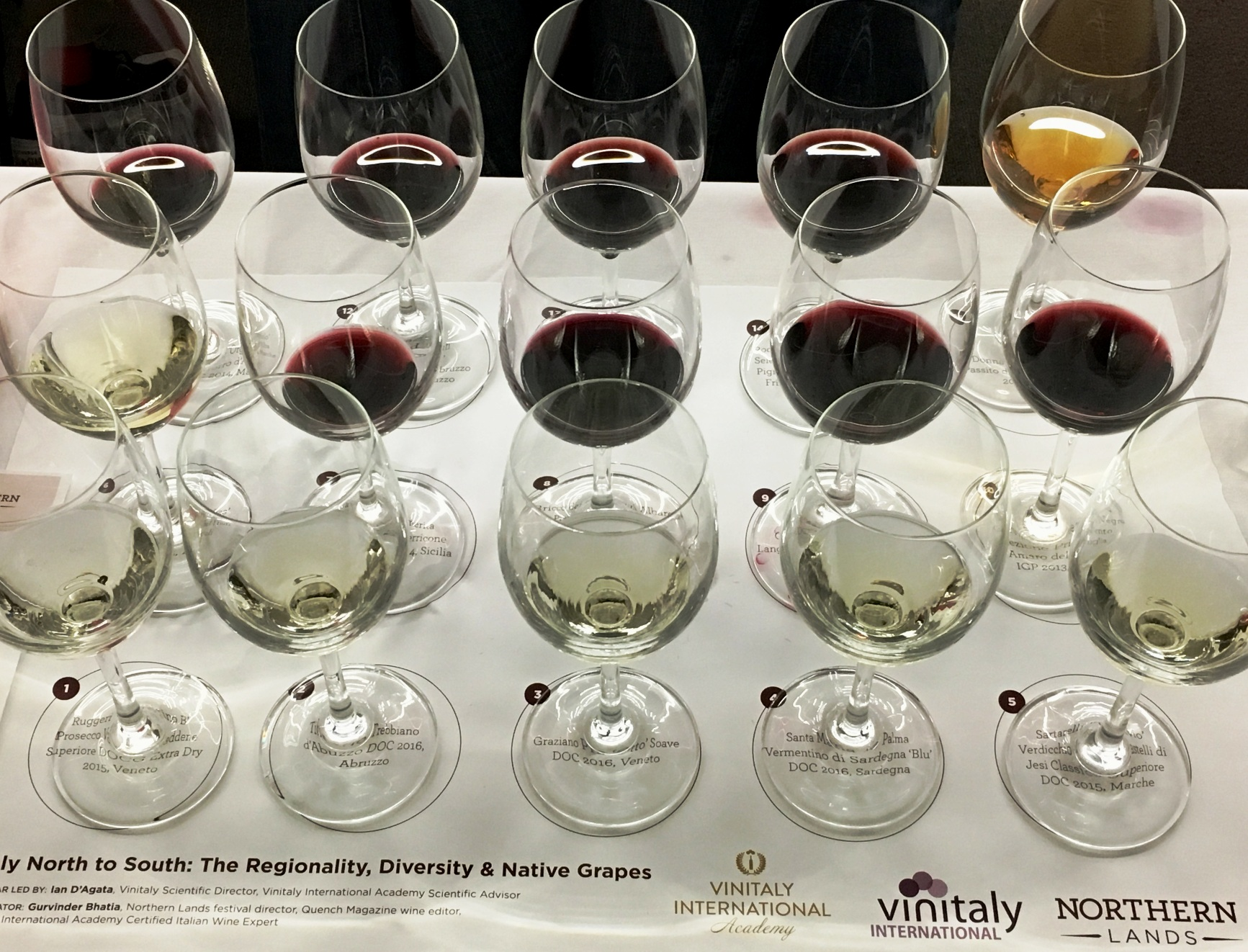 Vinitaly 2017 Edmonton roadshow: Italy North to South