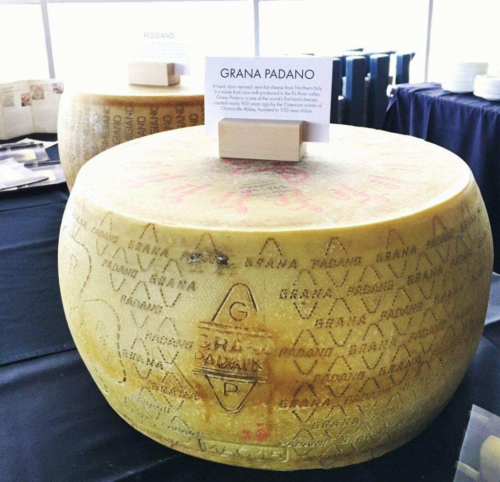 Vinitaly Edmonton roadshow 2017 grana padano cheese