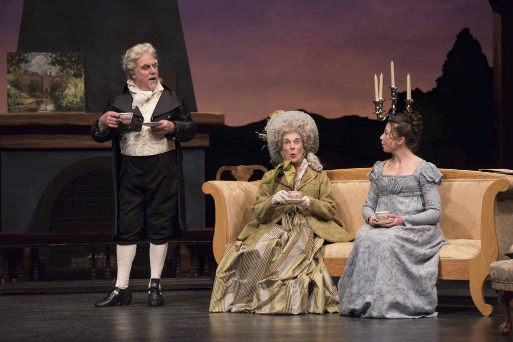 Jane Austen Sense and Sensibility play adaptation by Citadel Theatre Edmonton