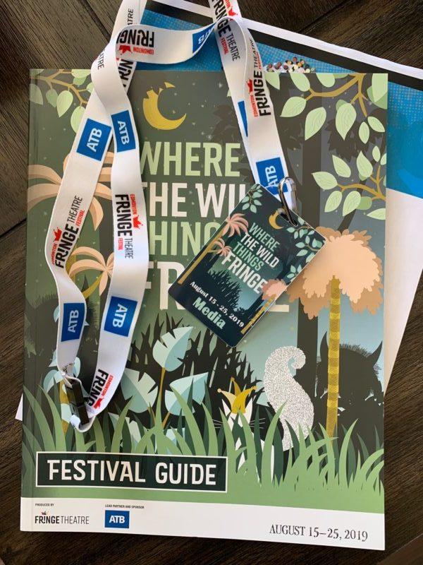 Edmonton Fringe 2019 festival guide and media pass