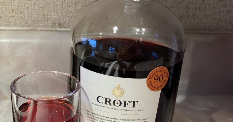 Wine Review: extremely mediocre tawny port from Croft in Douro