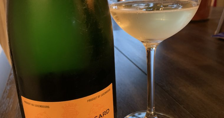 Wine Review: candy powder Crémant from Luxembourg
