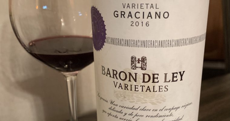 Wine Review: Oak Bomb Graciano from Rioja in Spain